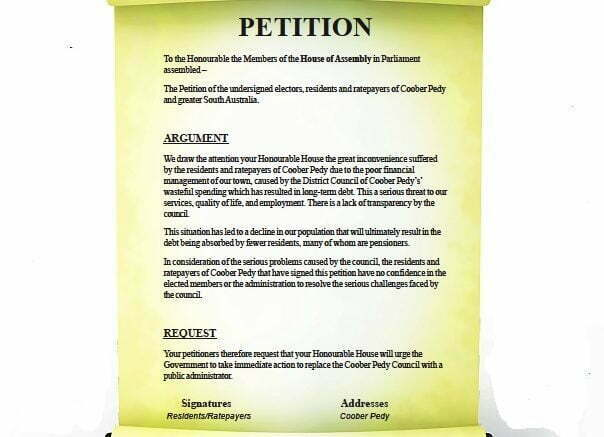 CP petition 2017